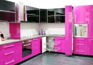 Růžová v kuchyni? Proč ne!