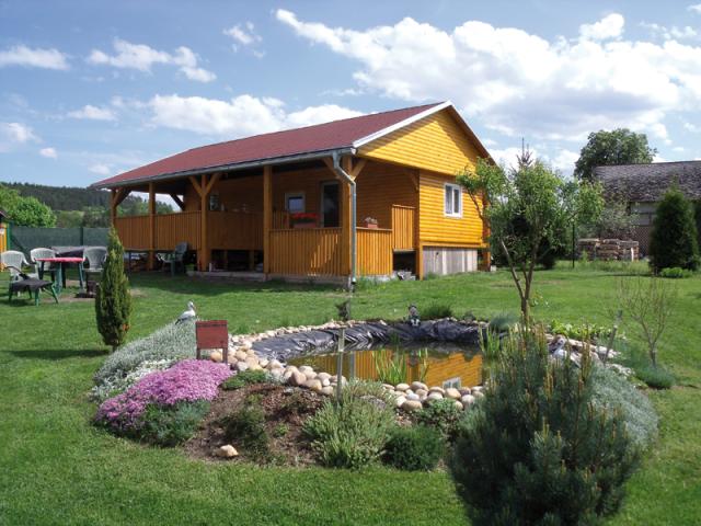 Mobilní domy (Zdroj foto: www.bivakhomes.cz   celoroční mobilní dům)