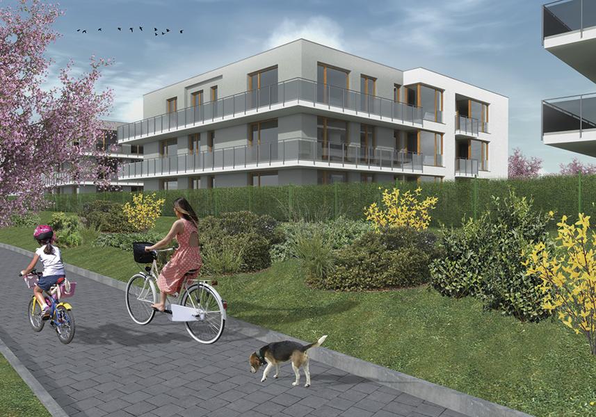 LEXXUS zahajuje prodej bytů vdalší etapě rezidenčního komplexu Bydlení Jinočany