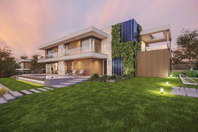Nový projekt vil NaMeandru