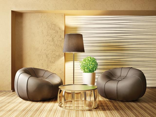 Interiérový design... tapetování